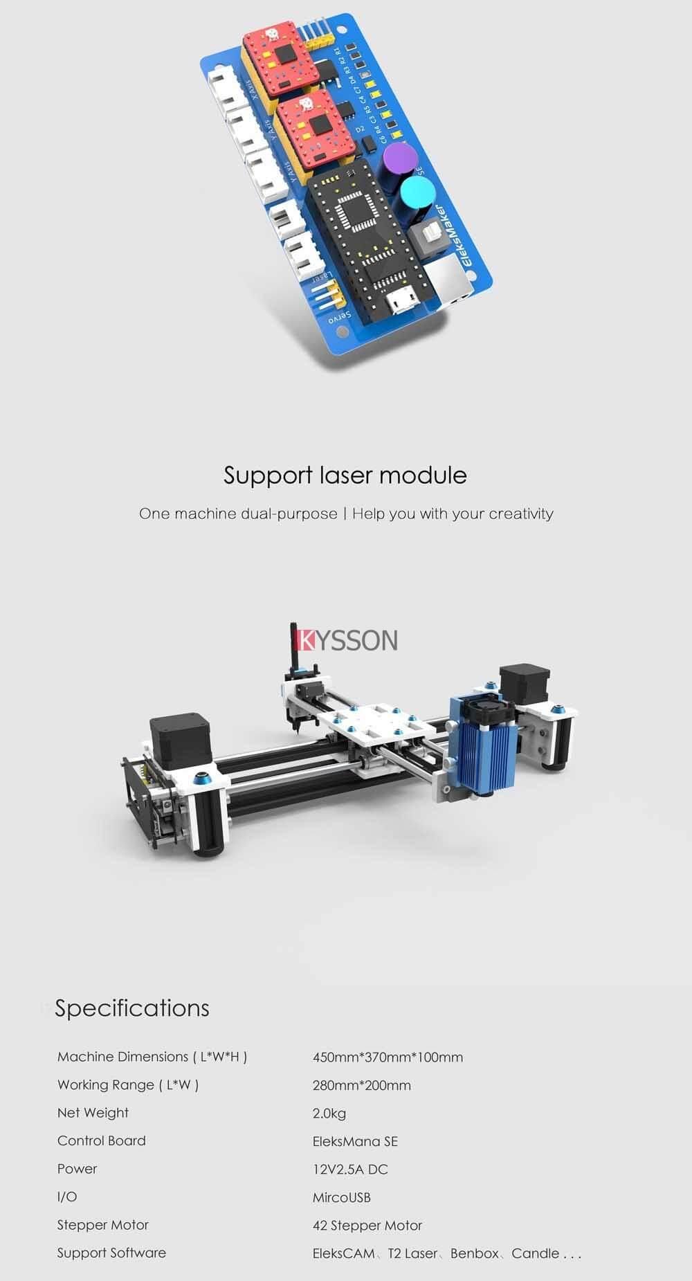 100-240V Upgraded Version Desktop DIY Plotter Desktop USB DIY XY